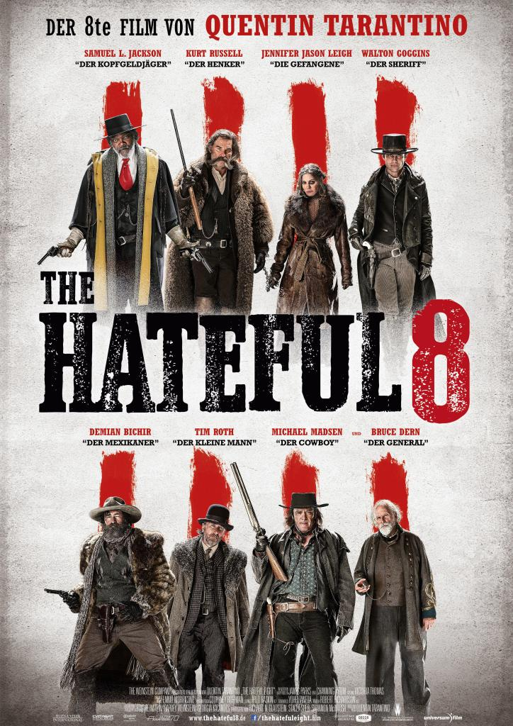 hateful 8 poster